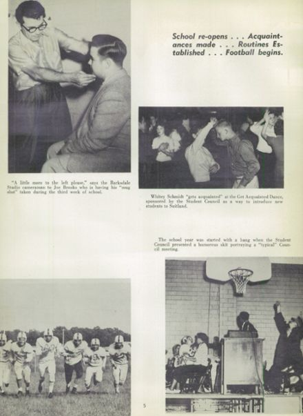 1957 Suitland High School Yearbook Page 9