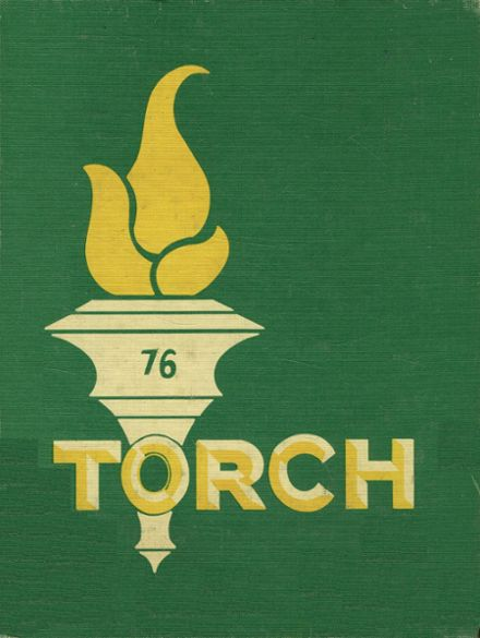 1976 Technical Memorial High School Yearbook Cover