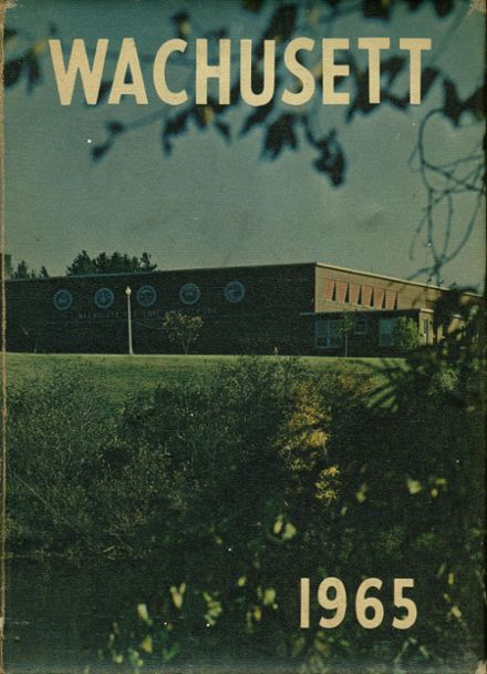 1965 Wachusett Regional High School Yearbook Cover