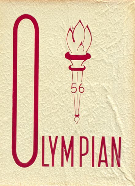 1956 O'Dea High School Yearbook Cover