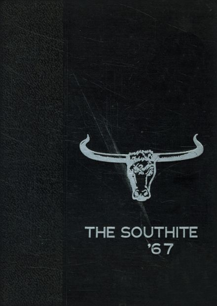 1967 South High School Yearbook Cover