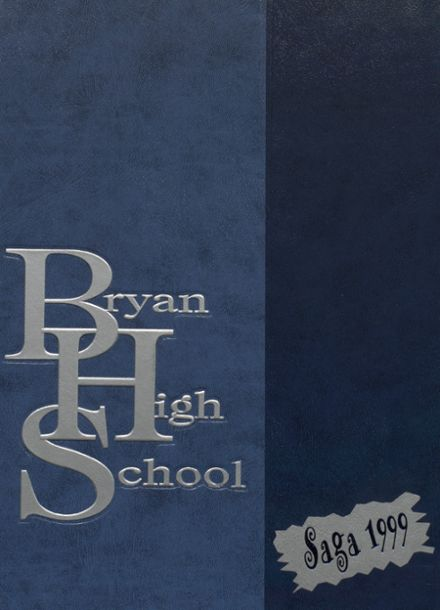 1999 Bryan High School Yearbook Cover