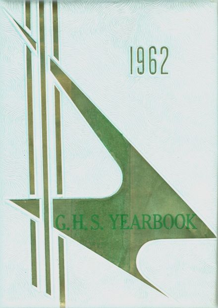 1962 Girls' High School Yearbook Cover