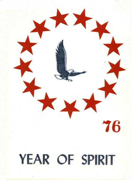 1976 Allagash High School Yearbook Cover