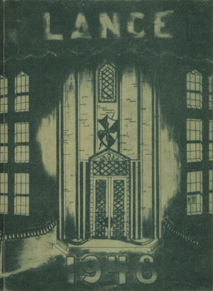 1948 St. Catherine's High School Yearbook Cover