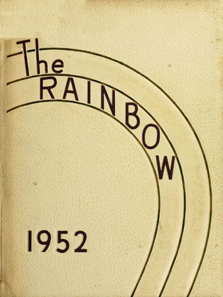 1952 Academy of Richmond County Yearbook Cover