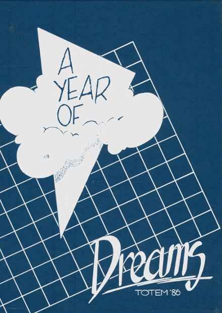 1986 Owatonna High School Yearbook Cover