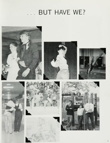 1983 Lafollette High School Yearbook Page 9