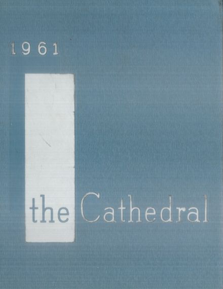 1961 Cathedral Girls' High School Yearbook Cover