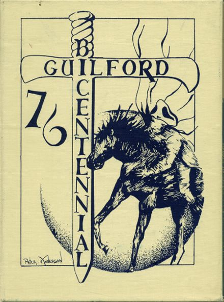 1976 Guilford High School Yearbook Cover