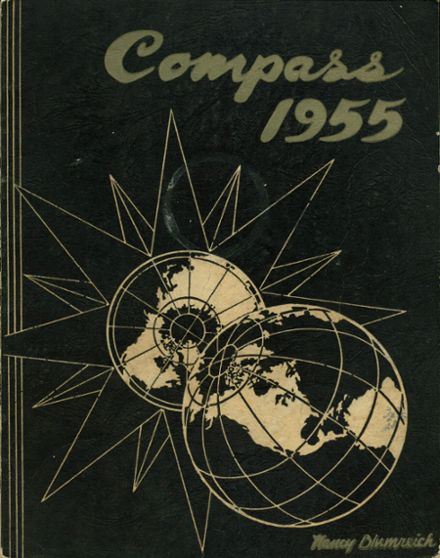 1955 Kensington High School Yearbook Cover