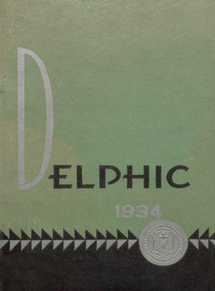 1934 St. Helen's Hall High School Yearbook Cover