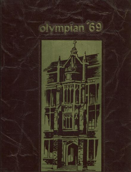 1969 O'Dea High School Yearbook Cover
