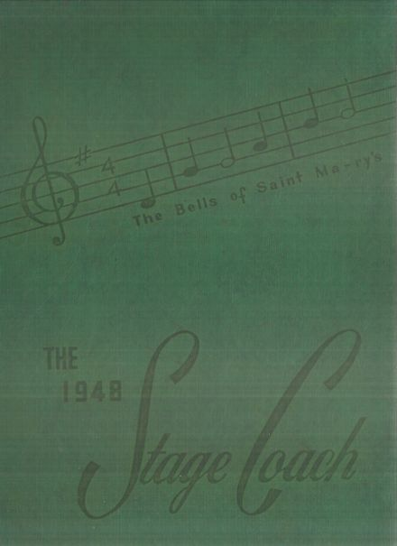 1948 St. Mary's College Preparatory Yearbook Cover