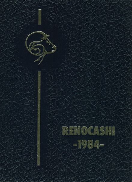 1984 Reidsville High School Yearbook Cover