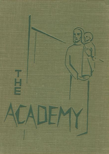 1961 St. Joseph's Academy Yearbook Cover