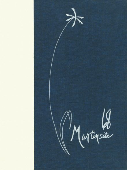 1968 St. Martin's Academy Yearbook Cover