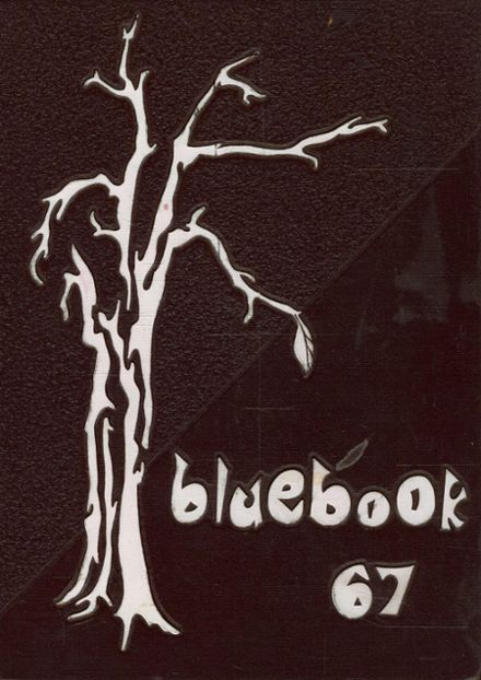 1967 St. Mary's High School Yearbook Cover