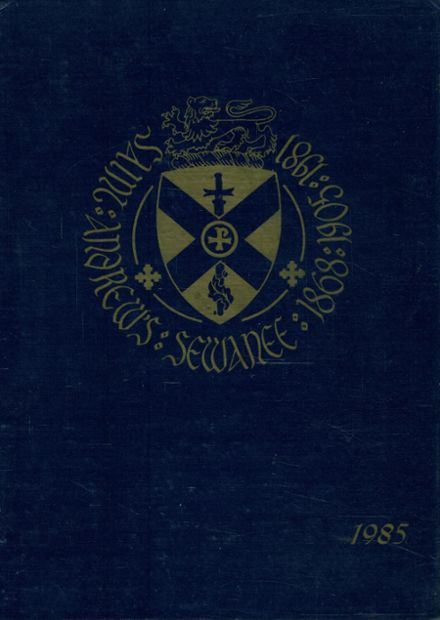1985 St. Andrew's High School Yearbook Cover