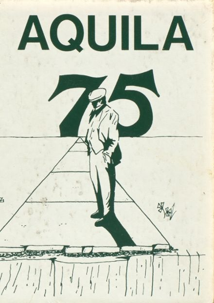 1975 St. John's Academy Yearbook Cover