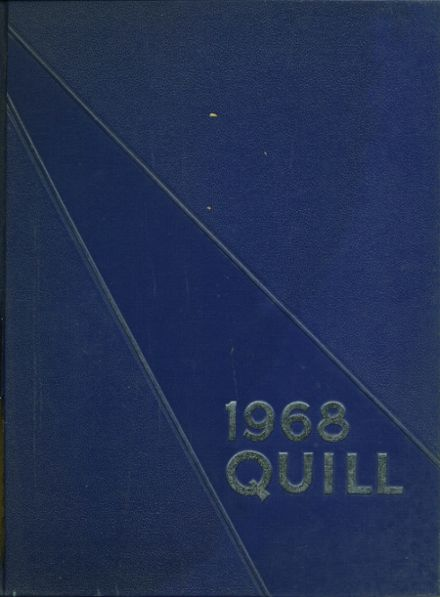 1968 Enid High School Yearbook Cover