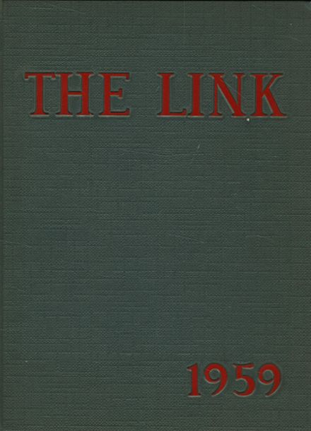 1959 Miss Fine's High School Yearbook Cover