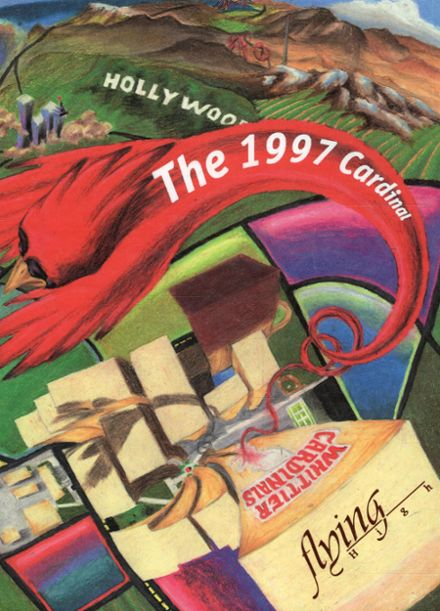1997 Whittier High School Yearbook Cover