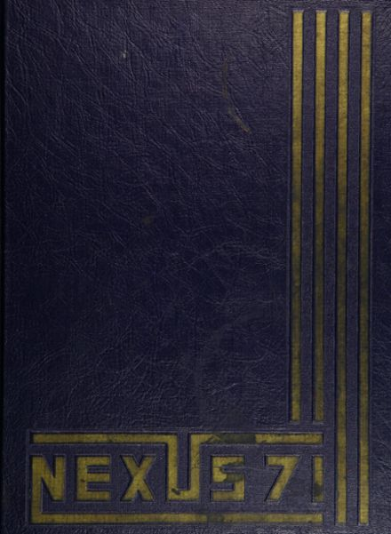 1971 Cardozo High School Yearbook Cover