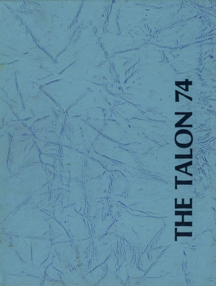 1974 Crescenta Valley High School Yearbook Cover