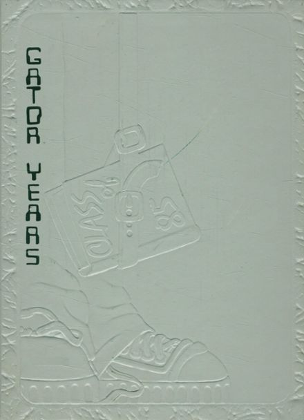 1985 Vicksburg High School Yearbook Cover