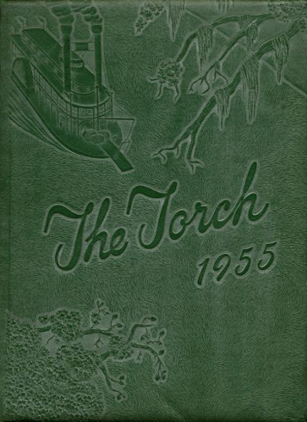 1955 North Union High School Yearbook Cover