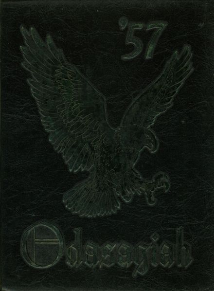 1957 Edgewater High School Yearbook Cover
