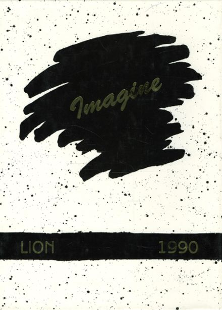 1990 Red Lion Area High School Yearbook Cover