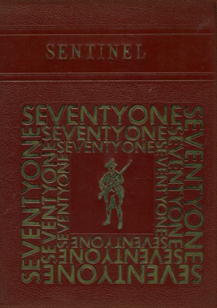 1971 Christian Academy Yearbook Cover