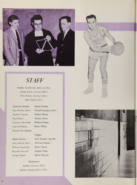 1961 Bishop Loughlin High School Yearbook Page 8