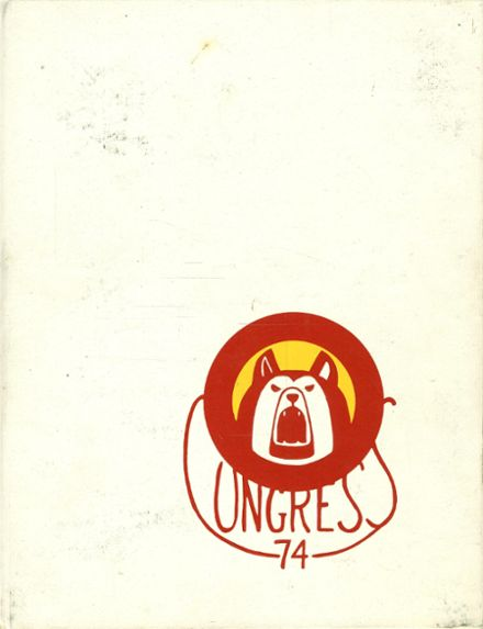 1974 Olean High School Yearbook Cover