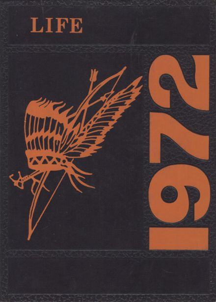 1972 Humboldt High School Yearbook Cover