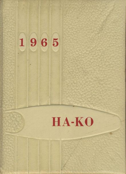 1965 Fox High School Yearbook Cover
