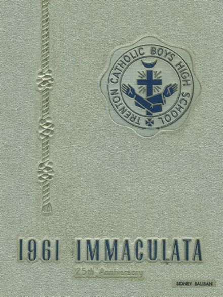 1961 Trenton Catholic Boys' High School Yearbook Cover
