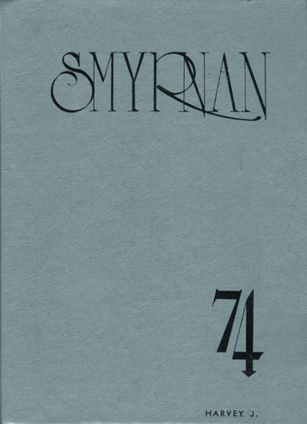 1974 New Smyrna Beach High School Yearbook Cover