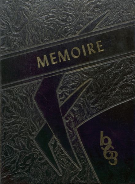 1963 L'Anse High School Yearbook Cover
