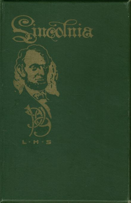 1909 Lincoln High School Yearbook Cover