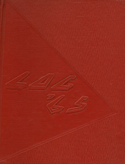 1965 Redwood High School Yearbook Cover