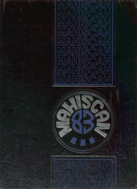1983 Marshfield High School Yearbook Cover