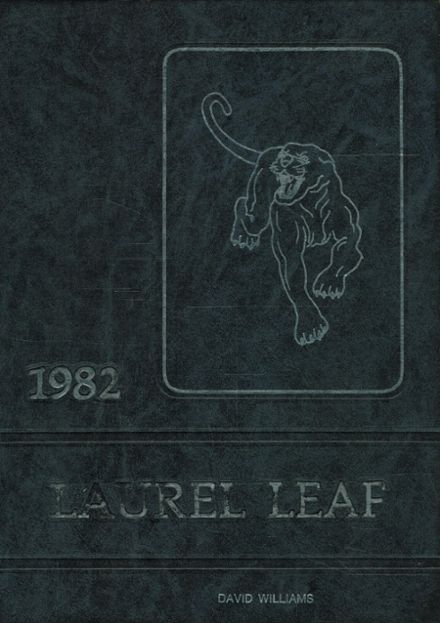 1982 Franklin High School Yearbook Cover