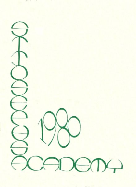 1980 St. Joseph's Academy Yearbook Cover
