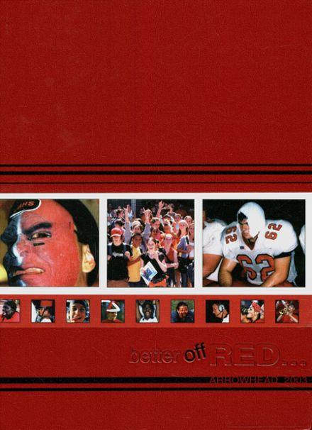 2003 Vero Beach High School Yearbook Cover