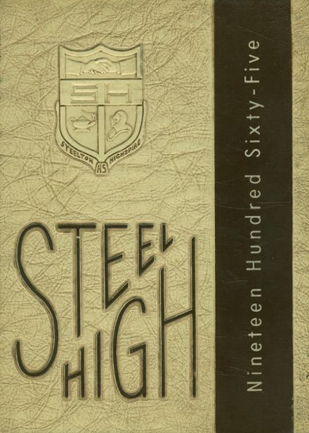 1965 Steelton-Highspire High School Yearbook Cover