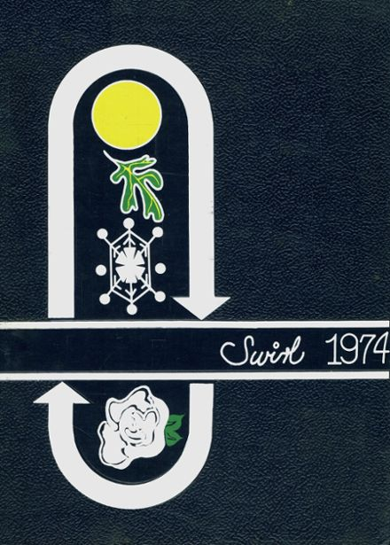1974 Dover High School Yearbook Cover