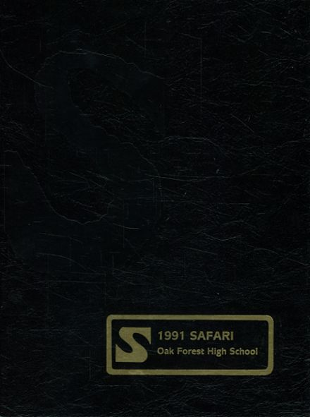 1991 Oak Forest High School Yearbook Cover